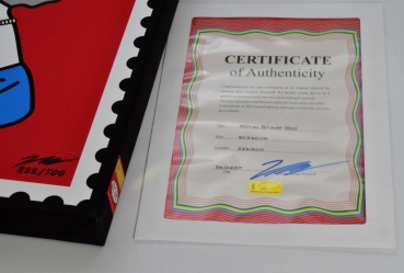 Certificate Handsigned Numbered